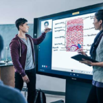 Broadclyst School – Surface Hub teamworking