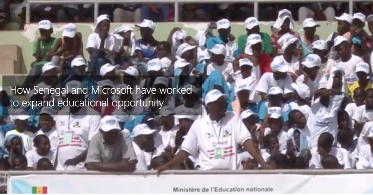 How Senegal and Microsoft have worked to expand educational opportunity